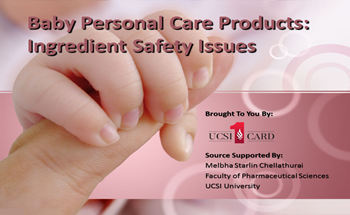 Baby Personal Care Products Ingredient Safety Issues